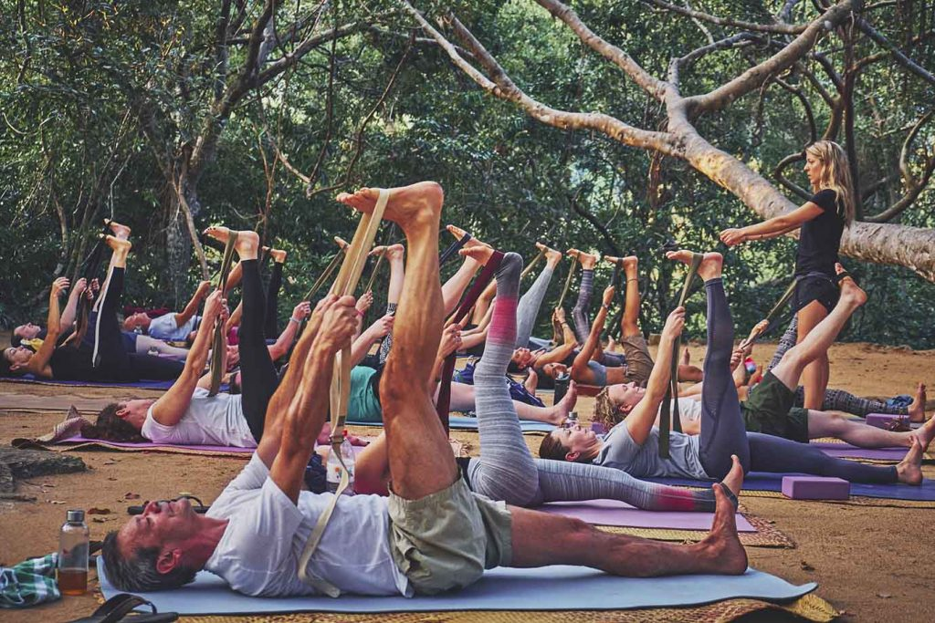 Yoga holiday at Ulpotha retreat in Sri Lanka