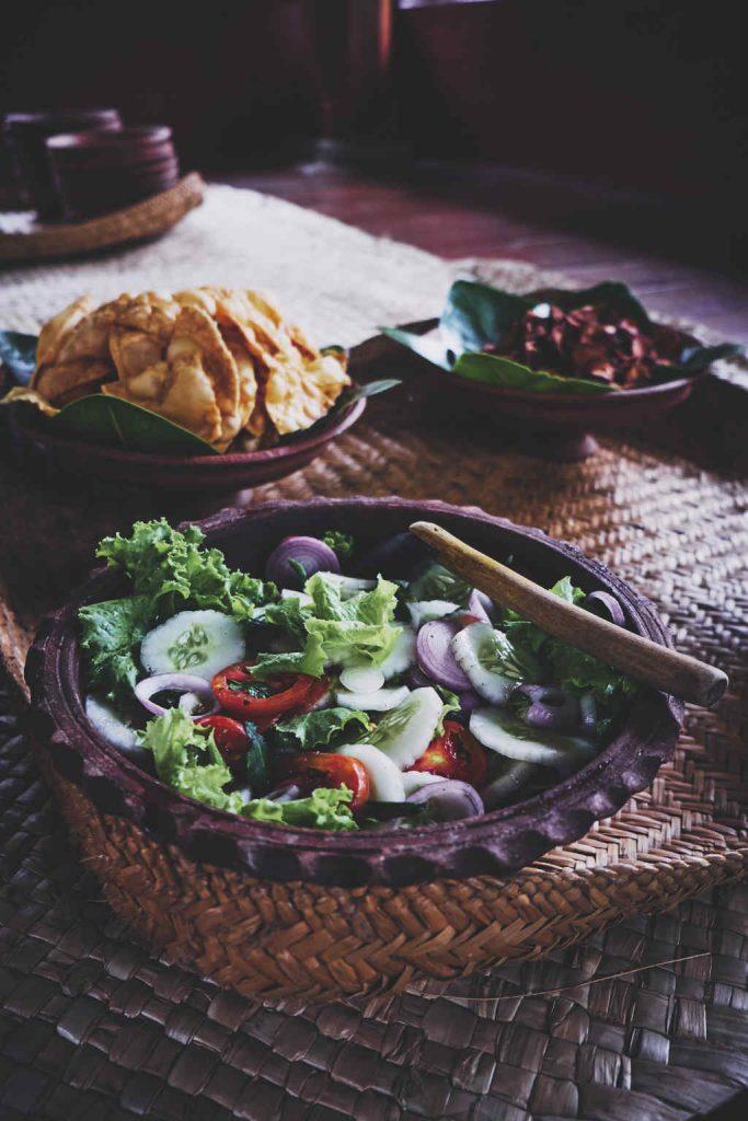 Ulpotha kitchen garden salad