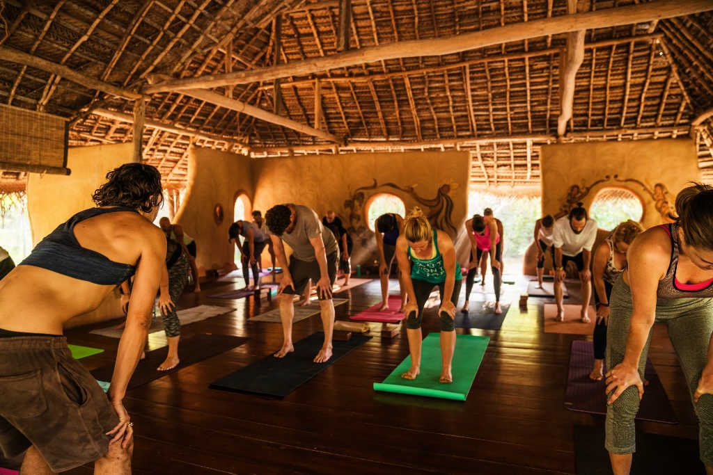 Yoga shala at Ulpotha Retreat Sri Lanka
