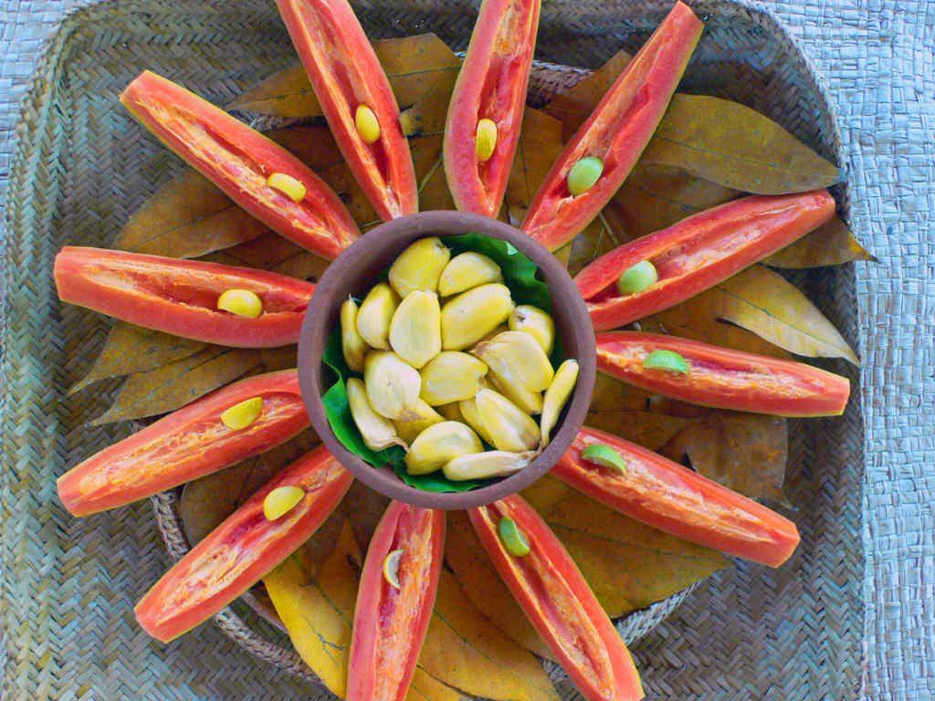 Ulpotha jackfruit and papaya