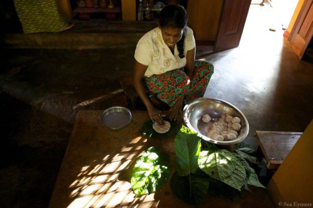 Ulpotha making rotis