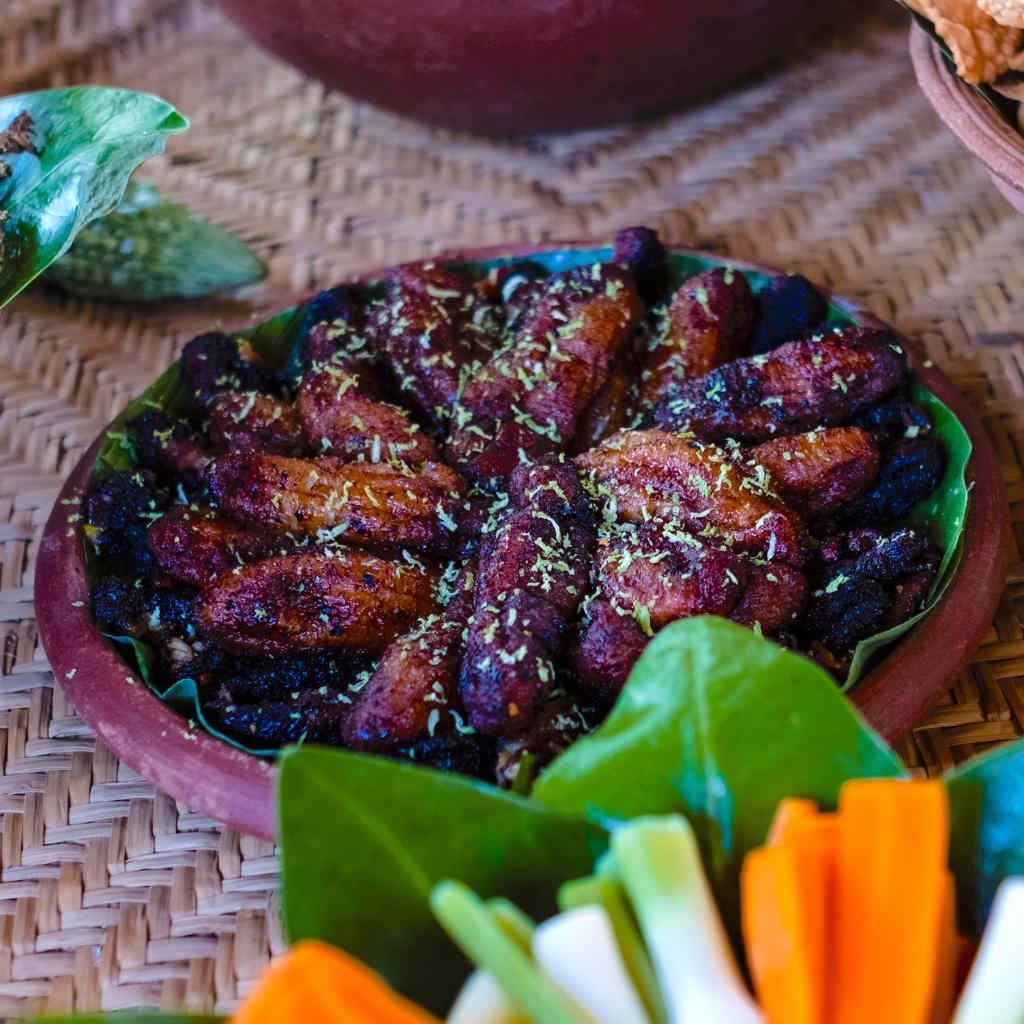 Ulpotha fried bananas