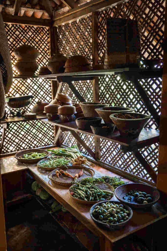 Ulpotha kitchen vegetables